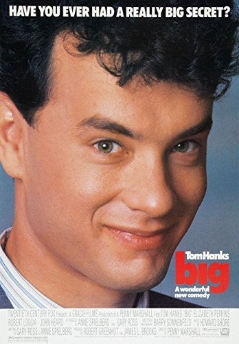 Big Tom Hanks Classic Movie Poster Various Sizes A4 Size 21