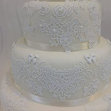 Claire Bowman Cake Lace Mat Sweet Lace Amazon Com Grocery