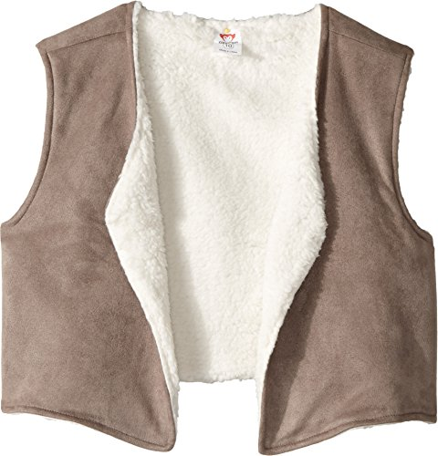 Appaman Girls' Little Orchard Reversible Vest, Natural, 6 -