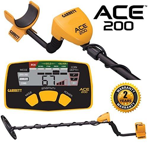 Garrett Ace 200 Metal (Ace 250 Garrett Metal)