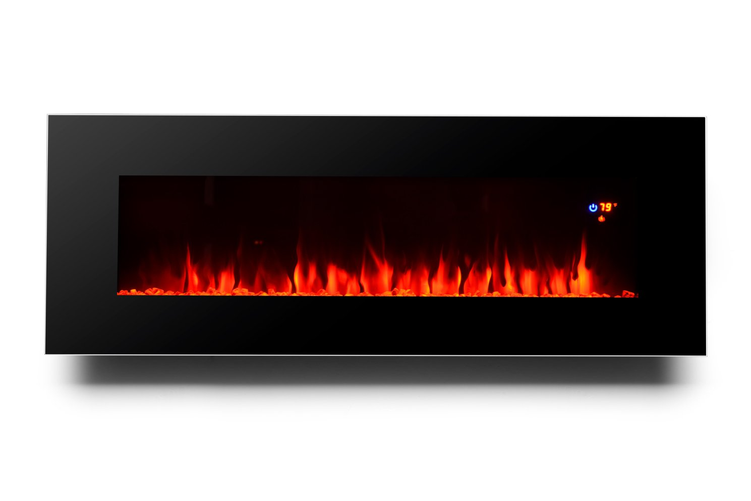 wall mount electric fireplace heater. Amazon.com: 3G Plus 50\ Wall Mount Electric Fireplace Heater R