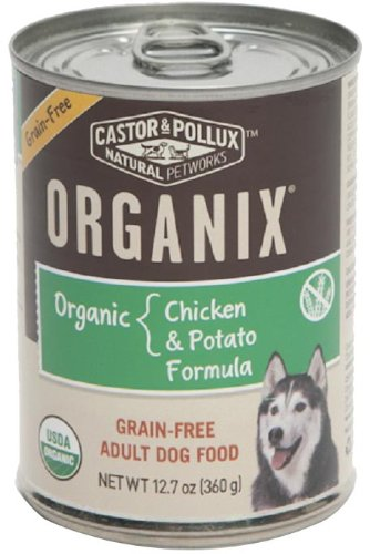 Organix, Grain Free Organic Chicken & Potato Canned Dog Food, 12.7 oz