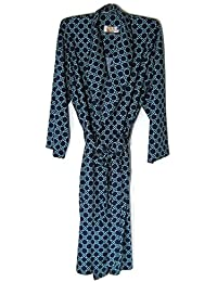 4XL Robe For Men Big Sleepwear Blue