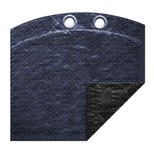 Heavy Duty Solar Blanket (Pool Mate 351224-4PM Heavy-Duty Winter Cover for Oval Above Ground Swimming Pool, 12' x 24')