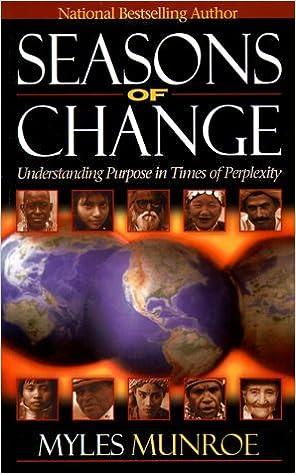 Book Seasons of Change by Myles Munroe (1955-01-01)