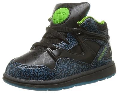 d8a9d18f7b0ef Reebok Unisex Babies  Versa Pump Omni Lite First Walking Shoes   Amazon.co.uk  Shoes   Bags