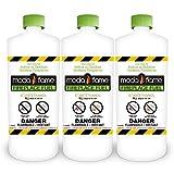 Moda Flame 1 Quart Bio-Ethanol Fireplace Fuel 3 Bottles