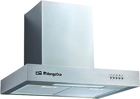 Orbegozo 16008 DS 56170 A IN-Campana decorativa, 190 W, 3 velocidades, 40, Acero inoxidable: Amazon.es: Hogar