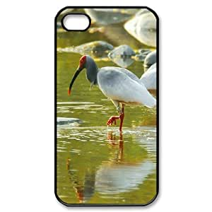 Crested Ibis New Fashion DIY Phone Case for Iphone 4,4S,customized cover case ygtg-337209