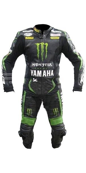 Corso Fashion Yamaha Traje de Cuero de Moto para Hombre - CE ...