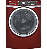 GE GFW480SPKRR 28in Front Load Washer 4.9CuFt, 13 Wash Cycles Red Deal (Small Image)