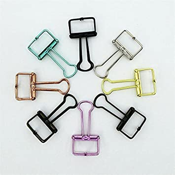 hobaos @ 24 sortiert Organisieren Mini Metall Binder Clips/zufällige ...