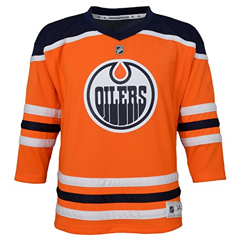 Jersey Authentic (NHL Edmonton Oilers Youth Boys Replica Home-Team Jersey, Large/X-Large, Special Orange)
