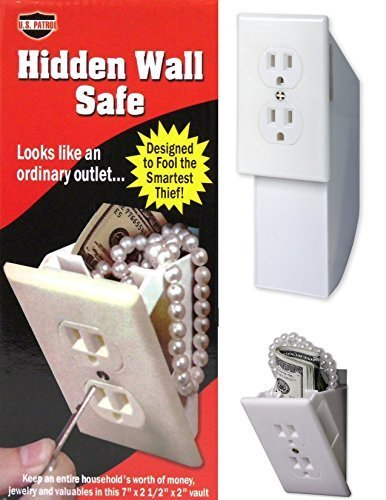 Hidden Wall Safe - Diversion Safe - Outlet Safe - Stash Box - Hide...