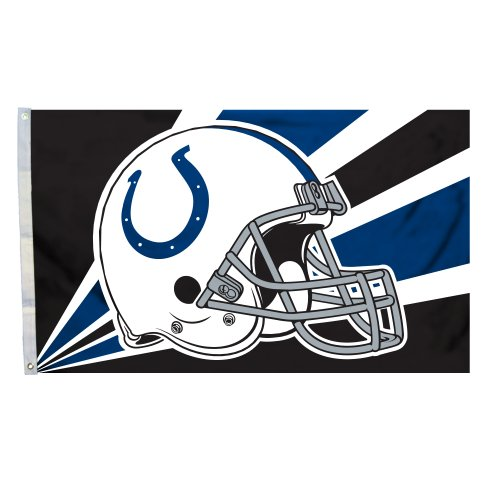 NFL Indianapolis Colts 3-by-5 Foot Helmet - Indianapolis Mall