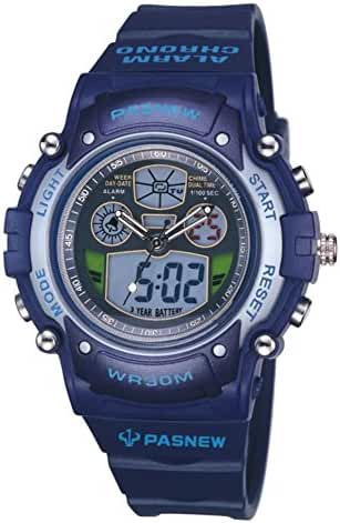 Boys fashion sport multi-function digital watch-B