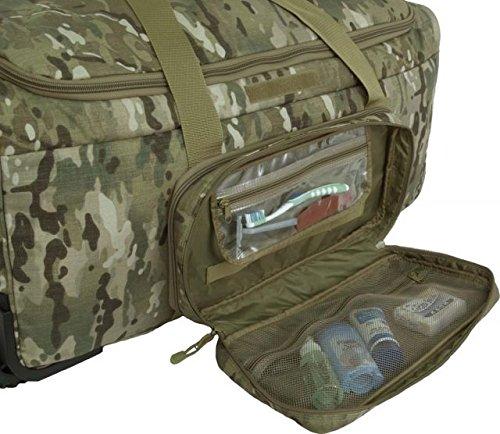 Mercury Deployment/Container Bag w\ Tri Wheel (Multicam)