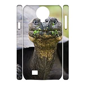 3D Case for Samsung Galaxy S4, Endangered Tortoises Case for Samsung Galaxy S4, Sexyass White