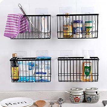 Amazon.com :   Storage Baskets   Iron Kitchen Storage Basket ...