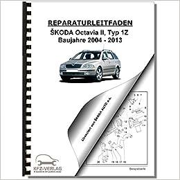 SKODA Octavia II 1Z 11-13 Schaltplan Stromlaufplan Verkabelung ...