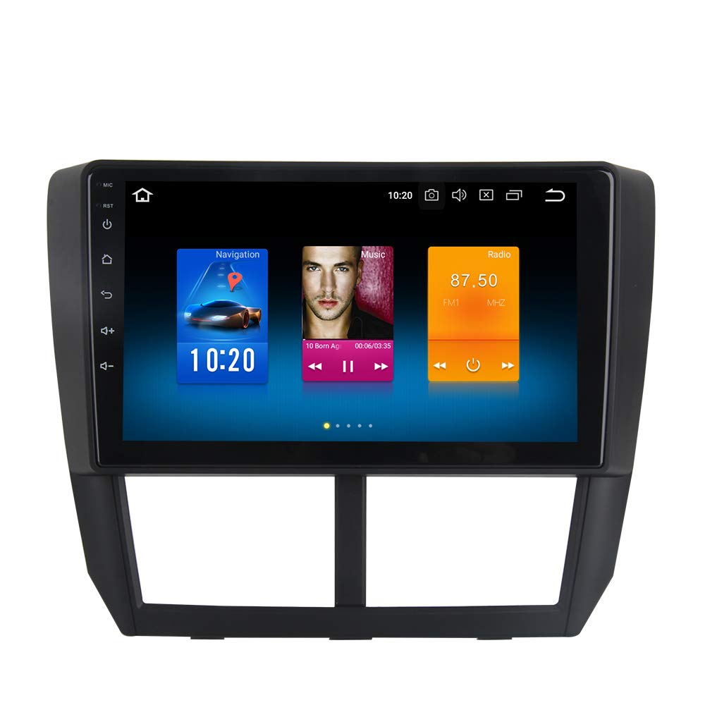 Dasaita Android 8 0 Car Stereo for Subaru Forester Stereo 2008 2009 2010  2011 2012 Head Unit in-Dash Octa Core 4GB RAM 32GB GPS Navigation (Free 8G
