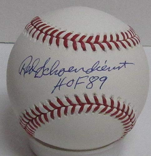 Cardinals Red Schoendienst Autographed Official MLB Basebal Signed HOF '89 Certified Authentic