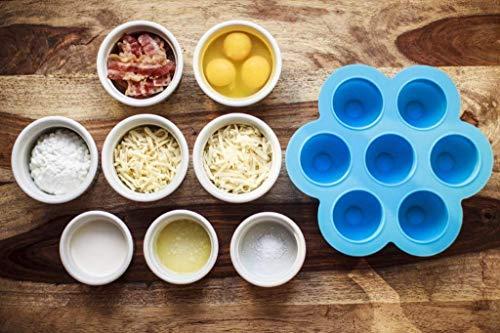 2 Egg Instant Pot Accessories – Fits 8 qt Freezer Accessory, Vide Egg Ring