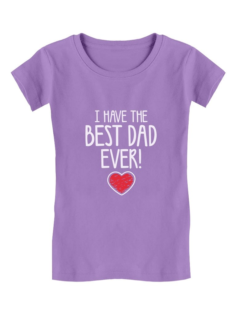 Tstars I Have The Best Dad Ever! Fathers Christmas Gift Cute Toddler ...