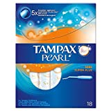 Tampax Pearl Super Plus Applicator Tampons Unscented (18)