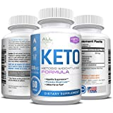 Shark Tank Keto Pills - Weight Loss for Men and Women - Ketosis Fat Burn - BHB Salts - Boost Energy