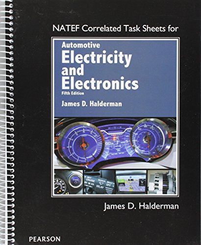 NATEF Correlated Task Sheets for Automotive Electricity and Electronics