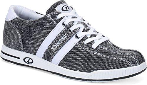Dexter Kory II Bowling Shoes, Black/White, Size 12.0