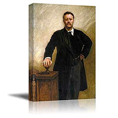Gorgeous Composition, Made With Top Quality, Portrait of President Theodore Roosevelt Inspirational Famous People Series