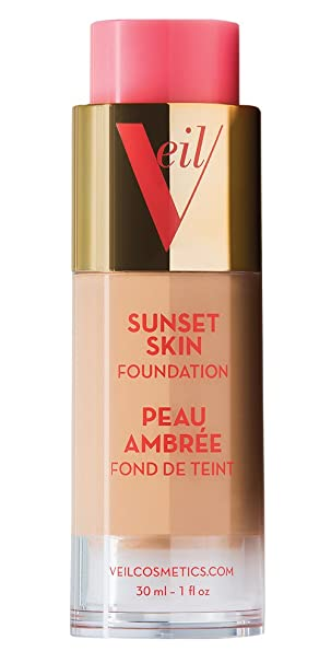 Amazon.com : Veil Cosmetics Sunset Skin Foundation (2P) : Beauty