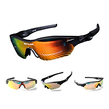 KOBWA GUB Gafas de Sol polarizadas para Deportes al Aire Libre, Ciclismo, Senderismo,