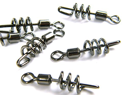 30pcs-2-0-38mm-15-thkfish-saltwater-black-tarnish-cork-screw-cross-swirl-swivel-line-hook-connector