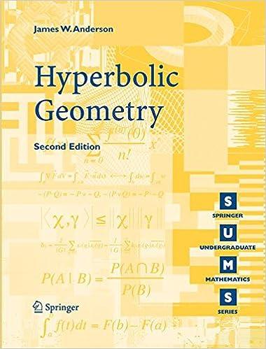 Hyperbolic Geometry (Springer Undergraduate Mathematics Series