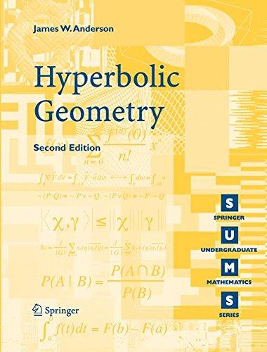 Hyperbolic Geometry (Springer Undergraduate Mathematics Series)