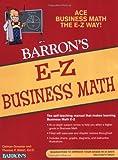 E-Z Business Math (Barron's E-Z Series)