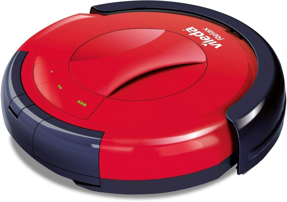 روبوت تنظيف الارضيات من فيلدا، لون احمر