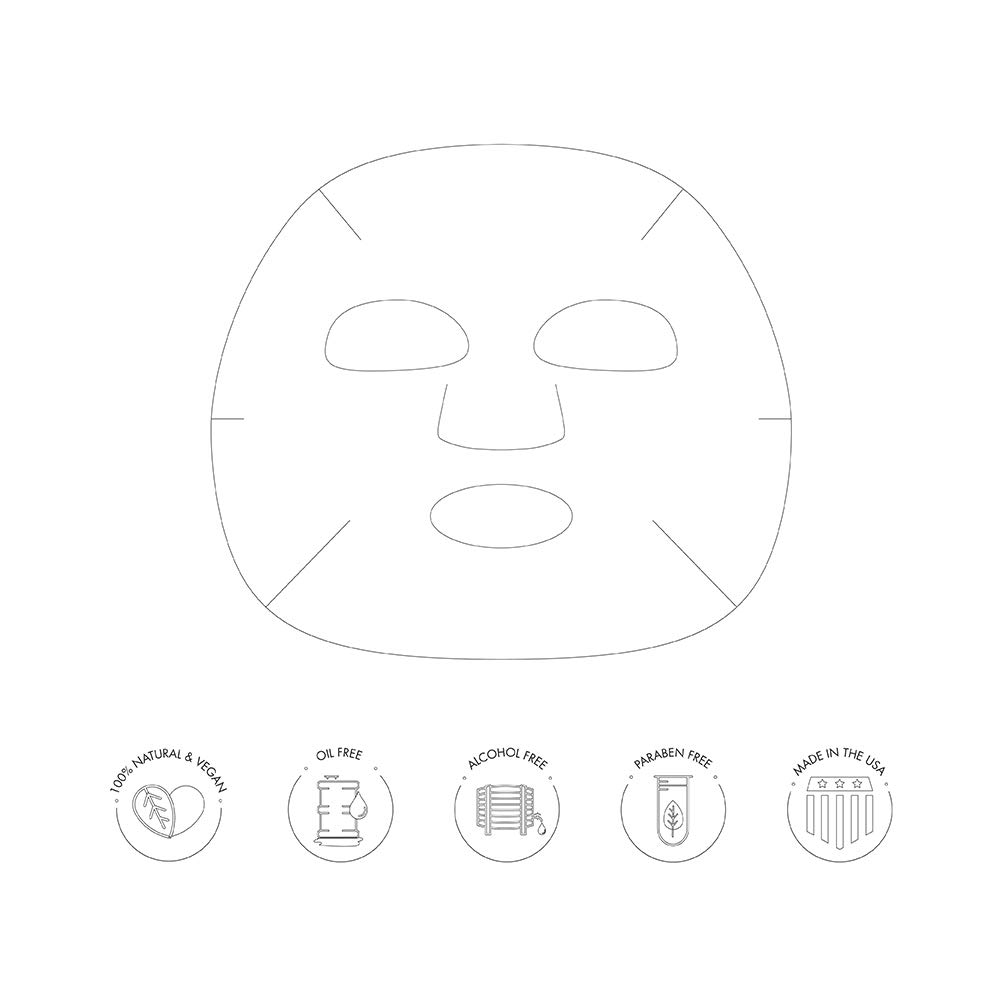 Ebanel Korean Collagen Facial Face Mask Sheet 15 Pack Instant Brightening and Hydrating Deep