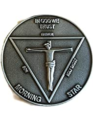 LUCIFER (TV Show) Lucifer Morningstar Pewter-Tone (Silver Tone) Inspired Pentecostal Coin