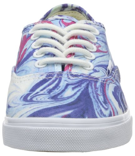 Vans Unisex Authentic (tm) Lo Pro Sneaker (Marmor) Blau / True White