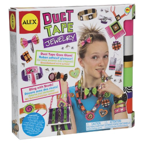 ALEX Toys DIY Wear Duct Tape (Fabulous Design Brooch)