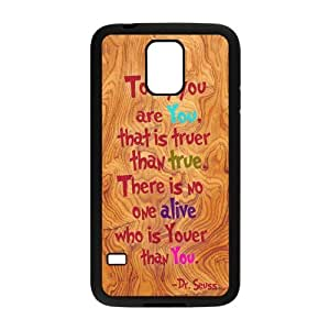 Nymeria 19 Customized Dr Seuss Diy Design For Samsung Galaxy S5 Hard Back Cover Case DE-328