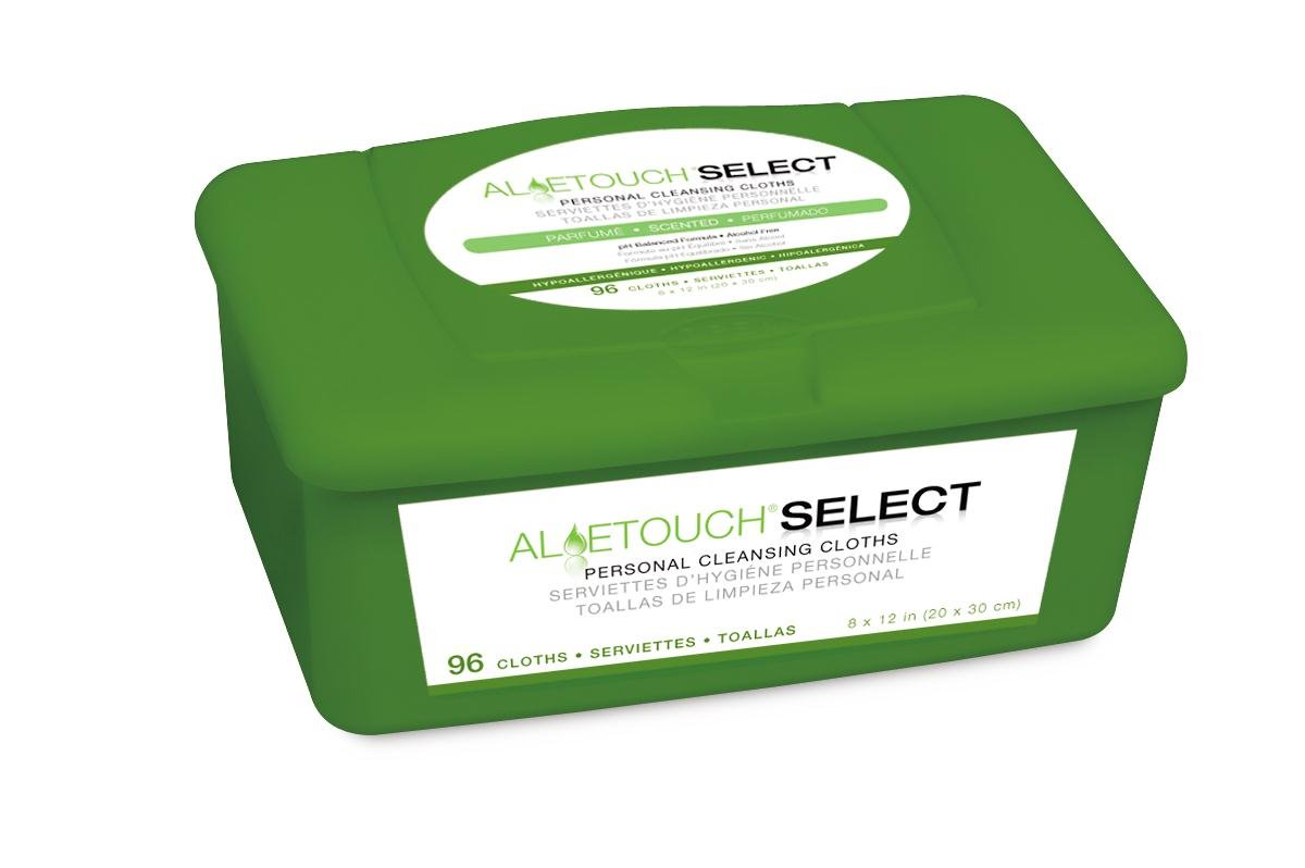 Amazon.com: Medline Aloetouch Select Premium Personal Cleansing Wipes, Tub of 96 Wipes: Industrial & Scientific