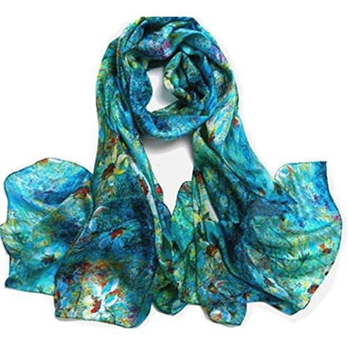 New Silk Shawl Scarf (Novels-wear new 100% mulberry Silk Scarf Wrap)
