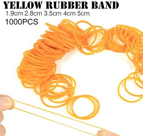 1000pcs/pack Rubber Bands For School Office Household Package Anti ...