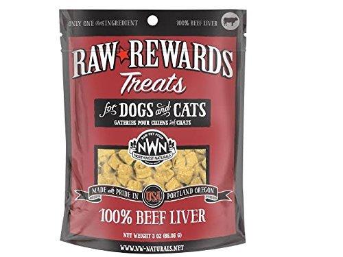 Northwest Naturals Raw Rewards Freeze Dried Liver Treats (Beef)