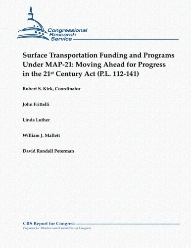 Map 21 Act.Surface Transportation Funding And Programs Under Map 21 Moving